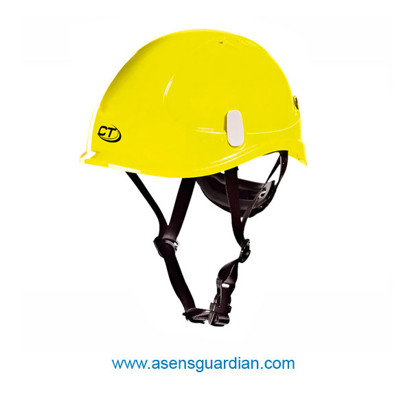 casco proteccion trabajo vertical. x-work amarillo
